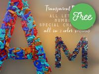 Kids & Alphabet - FREE 3D Lettering