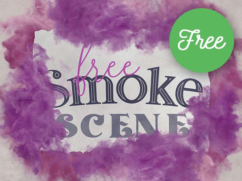 free smoke scene template by deeezy dribbble dribbble