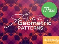 12 Free Modern Geometric Patterns