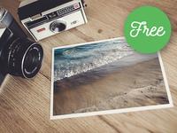 Photo in Frame – Free Mockups