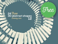 FREE 3D Abstract Shapes 12