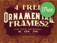 4 Free Ornamental Frames 2