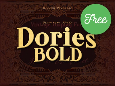 Dories Bold – Free Font
