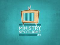Ministryspotlight.tv logo concept