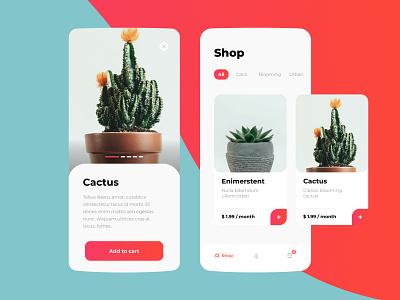 Plant app app design app ios app plant ux design ui mobile ios
