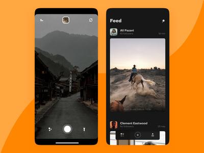 Photo editor + community app