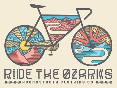 Ride the Ozarks outdoors biking cycling