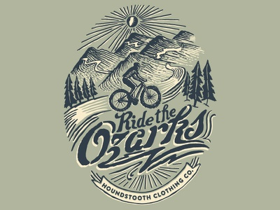 Ride The Ozarks cycling mountains ride bike