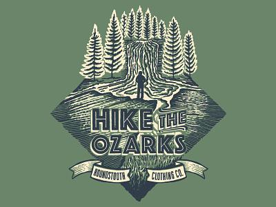 Hike The Ozarks waterfall arkansas hike