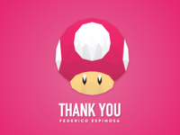 Dribbble 1up!