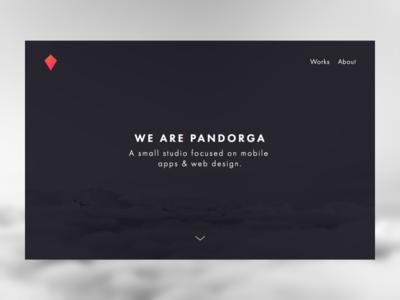Pandorga Website — WIP