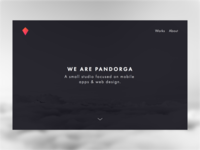 Pandorga Website — WIP