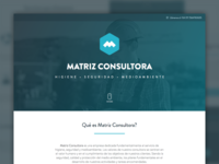 Matriz Consultora — Website