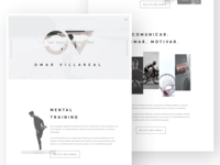 Omar Villarreal Website — WIP