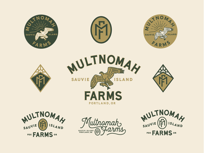 Multnomah Farms Brand Mark Study