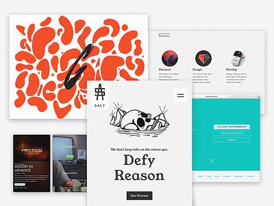 What I've been working on church web development branding design