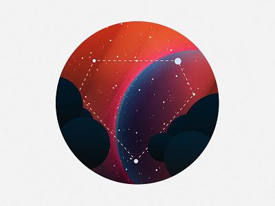Discover Icon constellation design