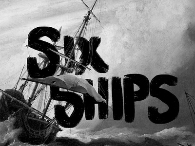 Six Ships renaissance illustration ship design art direction