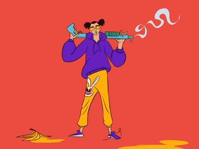 Banana shotgun