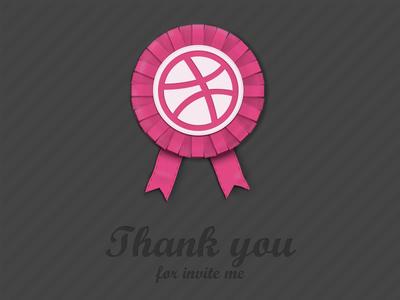 Thank Dribbble