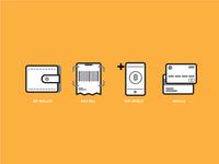 Re-design icon menu TrueMoney Wallet App