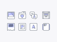 isgeorge icon set icon web photo sketch3 talk writer photoshop illustrator code