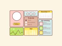 Dashboard Pastel
