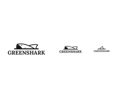 🦈Greenshark responsive logo icon illustration responsive logo