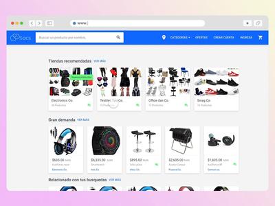 Ecommerce home page ecommerce shop ecommerce