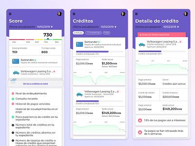 Credit Score App 💳 scoreboard money app economic fintech credit score