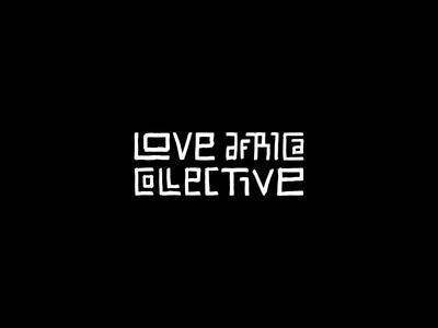 Hand drawn logotype for an African cosmetic range love africa custom type typography brandmark identity hand drawn lettering type logo logotype