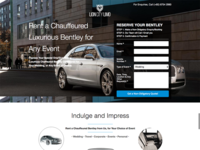 Lion City Limo - Rent A Bentley Microsite