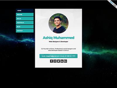 Portfolio website personal web portfolio