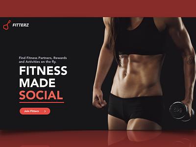 Social Fitness web app fitness social