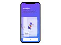 Sports App UI Interaction