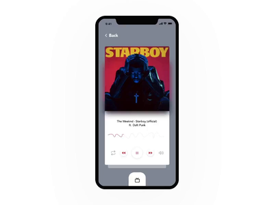 Music Player Interaction freebie interactive design interface apple music app ui music player musician music app interaction interaction design ui app ux