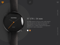 Landing Page Design For Watch
