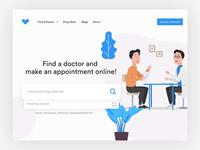 Doctor App Landing Page