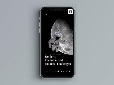 Space Mobile website - Responsive design