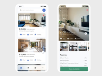 Real Estate Mobile app UI UX - Interactions