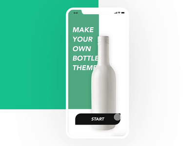 Bottle Graphic editing mobile app UI.UX.mp4