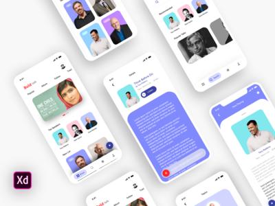 Talk - Mobile App UI UX