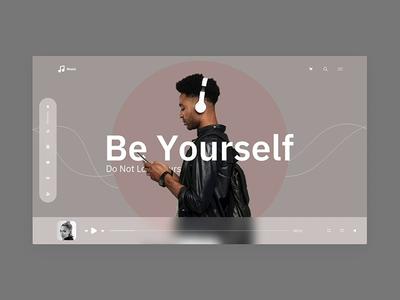Music Broadcast Landing page UI UX Inspiration