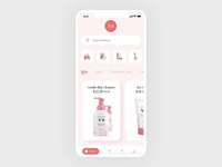 Product Page UI UX Interaction