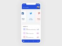 Ad campaign App UI Interaction