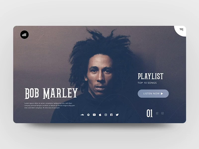 Music landing page interaction.mp4