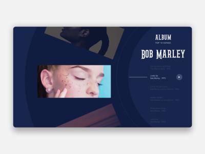Music player web