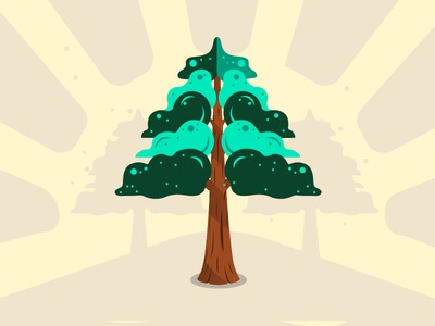 Sequoia - Family Tree Project illustrator illustration startup tree