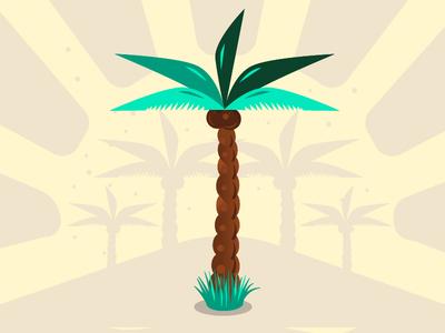 Palmer- Family Tree Project flatdesign rvb pattern palmer palmier