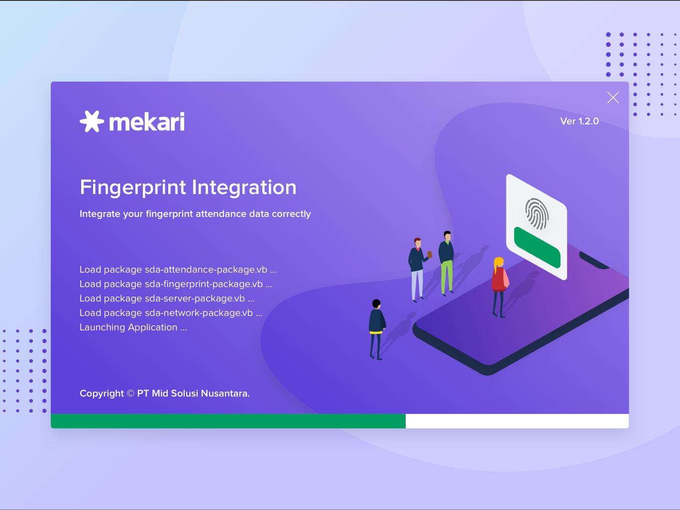 Mekari fingerprint